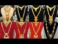 Latest Gold Long N Short Necklace Designs