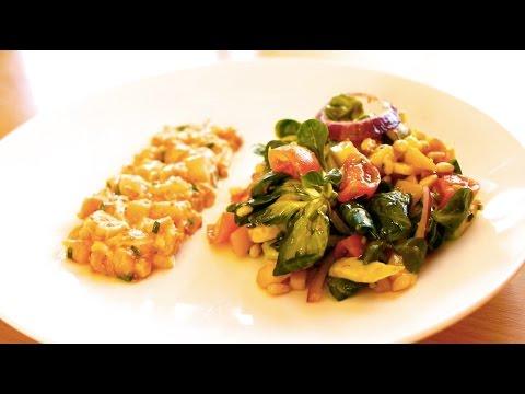 tartare-de-saumon-&-salade-avocat-mangue-►-recette