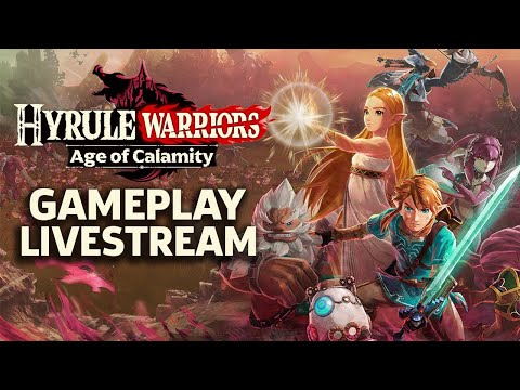 Hyrule Warriors Age of Calamity Gameplay Livestream (Japanese) - TGS 2020
