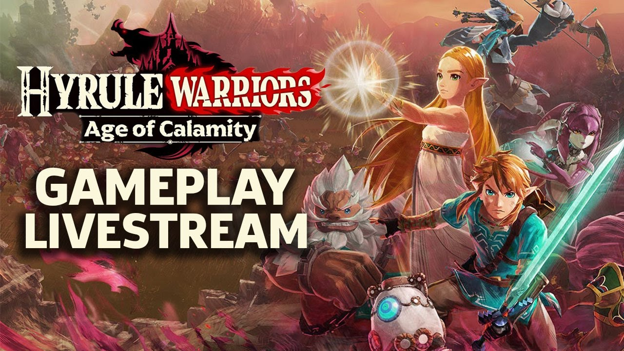 Hyrule Warriors Age Of Calamity Gameplay Livestream Japanese Tgs 2020 Youtube