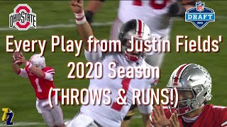 Every Play from Justin Fields' 2020 Season! (EVERY PASS & RUN)