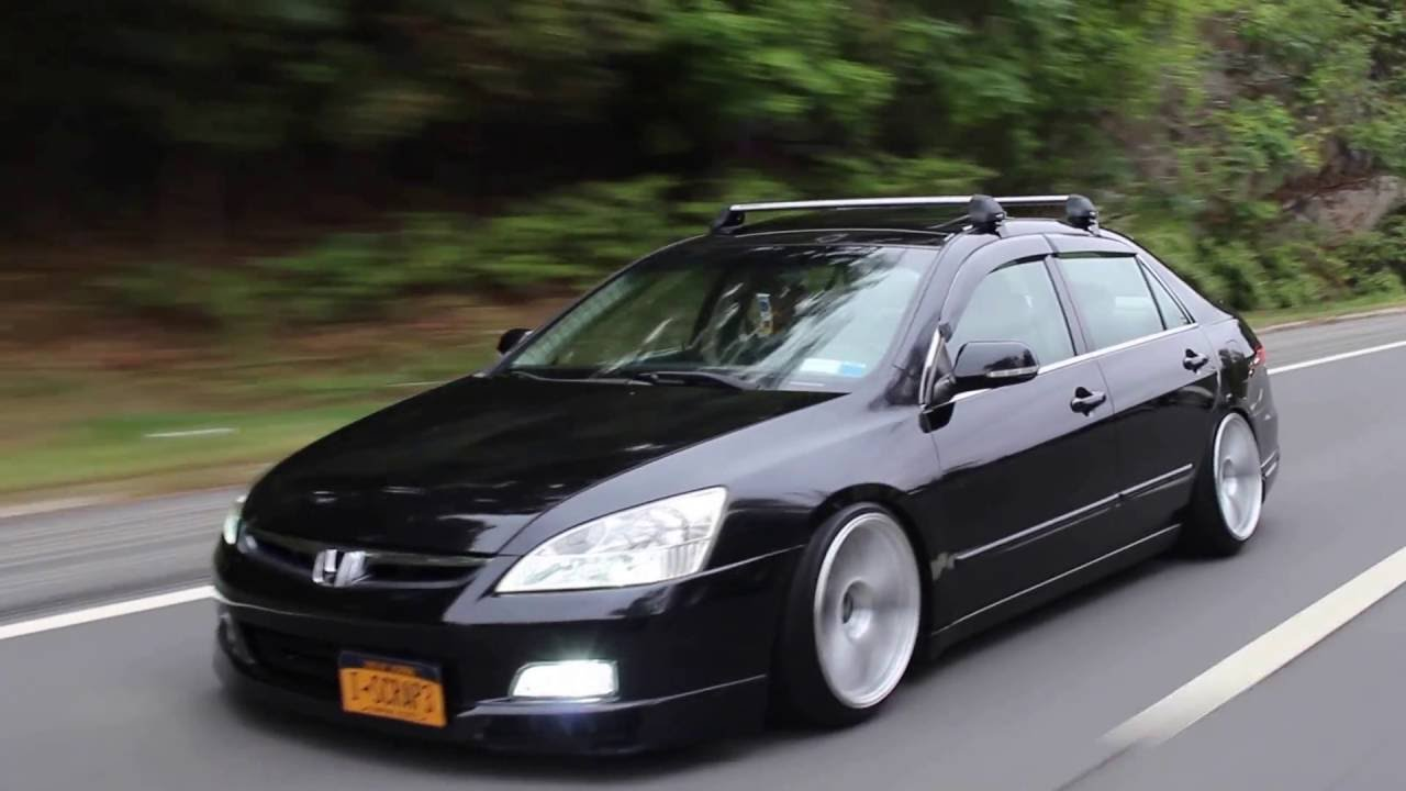 Slammed 2004 Honda Accord Grocery Getter In Ny Youtube
