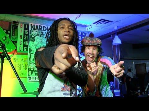 Nardwuar & Lil B at Nardwuar 30th Anniversary