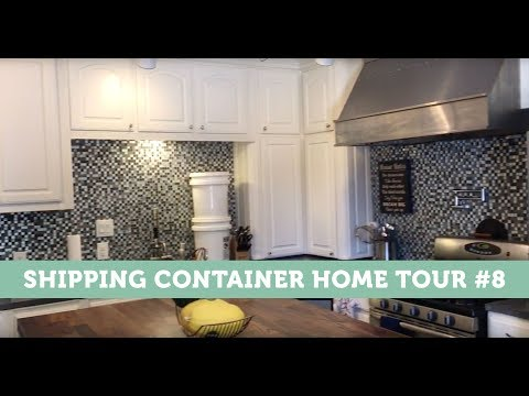 Shipping container home tour #8
