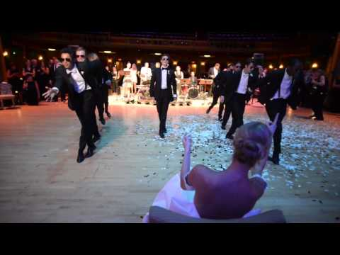 Ballerina Wedding: Surprise Groomsmen Dance