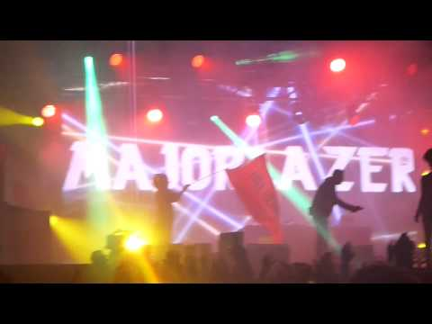 Major Lazer - Pon De Floor @ Bestival 2012