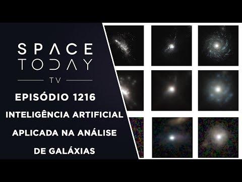 Inteligência Artificial Aplicada na Análise de Galáxias - Space Today TV Ep.1216