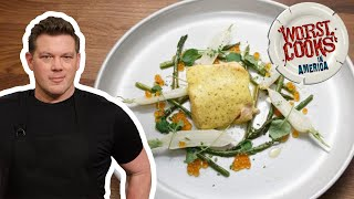 How to Make Salmon en Papillote with Tyler Florence | Worst Cooks in America