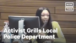 Activist's Speech on Police Brutality & Racial Injustice Goes Viral | NowThis
