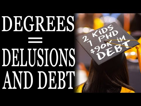 11-23-2020: Degrees, Delusion and Debt