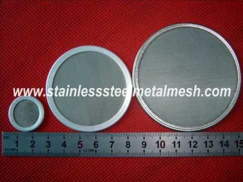 Stainless Steel Filter Disc, round disc, stainless steel wire mesh ...