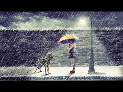 Rain On The Street Photo Manipulation   Photoshop Tutorial Cs6/cc