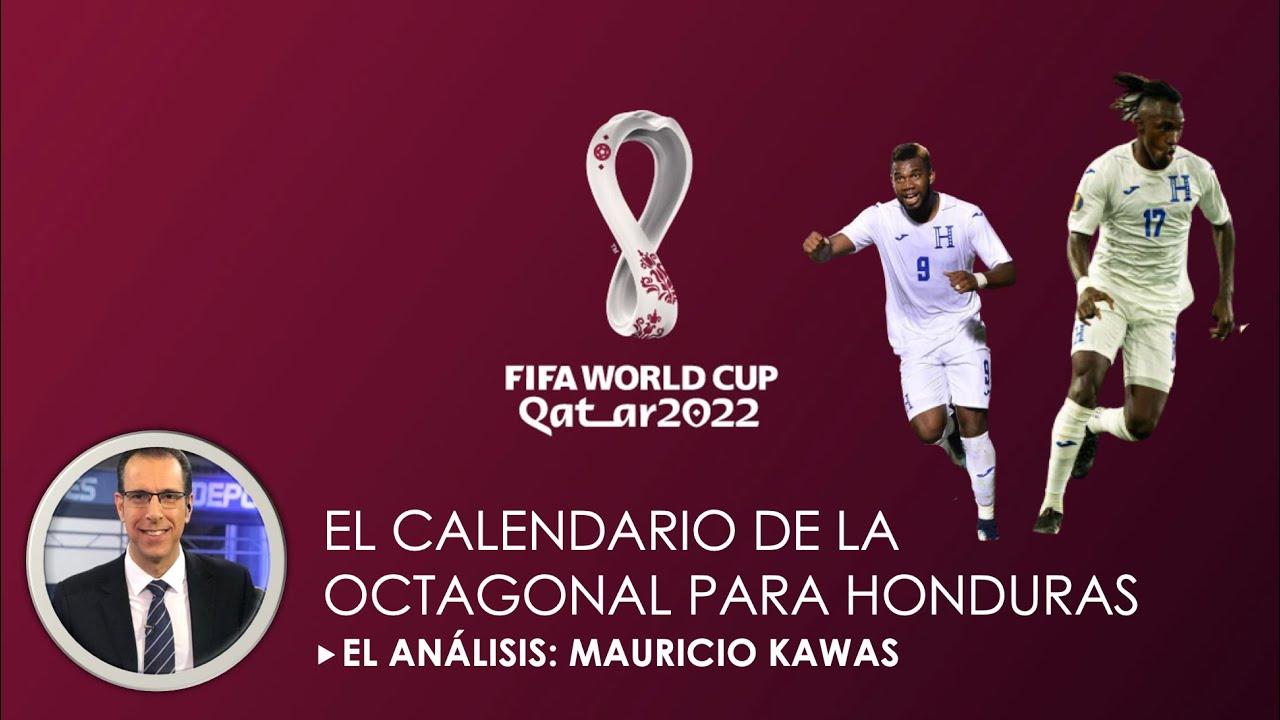 """Download El Análisis de Mauricio Kawas: """"El calendario de Honduras en la Octagonal de CONCACAF Qatar 2022"""""""