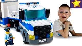 Машинки Полицейские LEGO City Полиция 60139 Мобильный командный центр