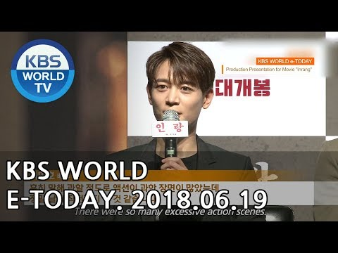 KBS WORLD e-TODAY [ENG/2018.06.19]