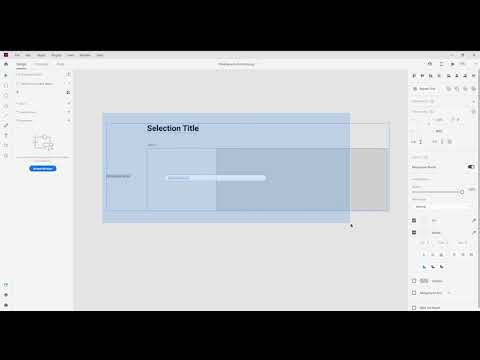 Can't select and move ALL THE THINGS in Adobe XD (May 2021)