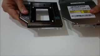 HDD Caddy kurulumu: Laptop'ınıza İkinci HDD/SSD