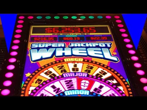 ★SUPER JACKPOT WHEEL ★ MAX BET BONUS! by Multimedia Games, CASINO GAMBLING!