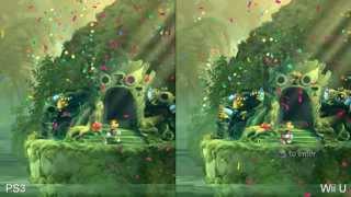 Rayman Legends: Wii U vs. PS3 1080p comparison