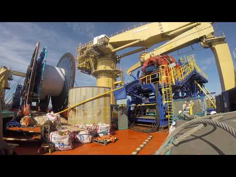 MDL Rever Offshore North Sea installation
