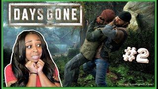 I GOT CAUGHT! | Days Gone Episode 2!