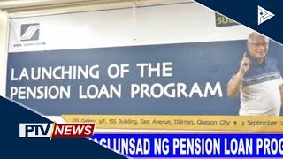 SSS, naglunsad ng pension loan program