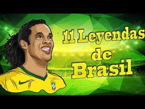 11 Jugadores Históricos de la Selección de Brasil