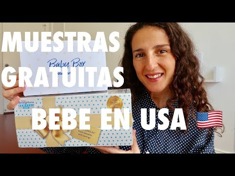 MUESTRAS GRATUITAS PARA BEBE EN USA – BABY SAMPLES – UNBOXING
