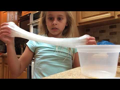 How to make slime more stretchy without lotion