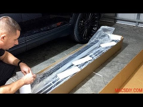 HOW TO INSTALL OEM RUNNING BOARDS ON A 2018 VW ATLAS