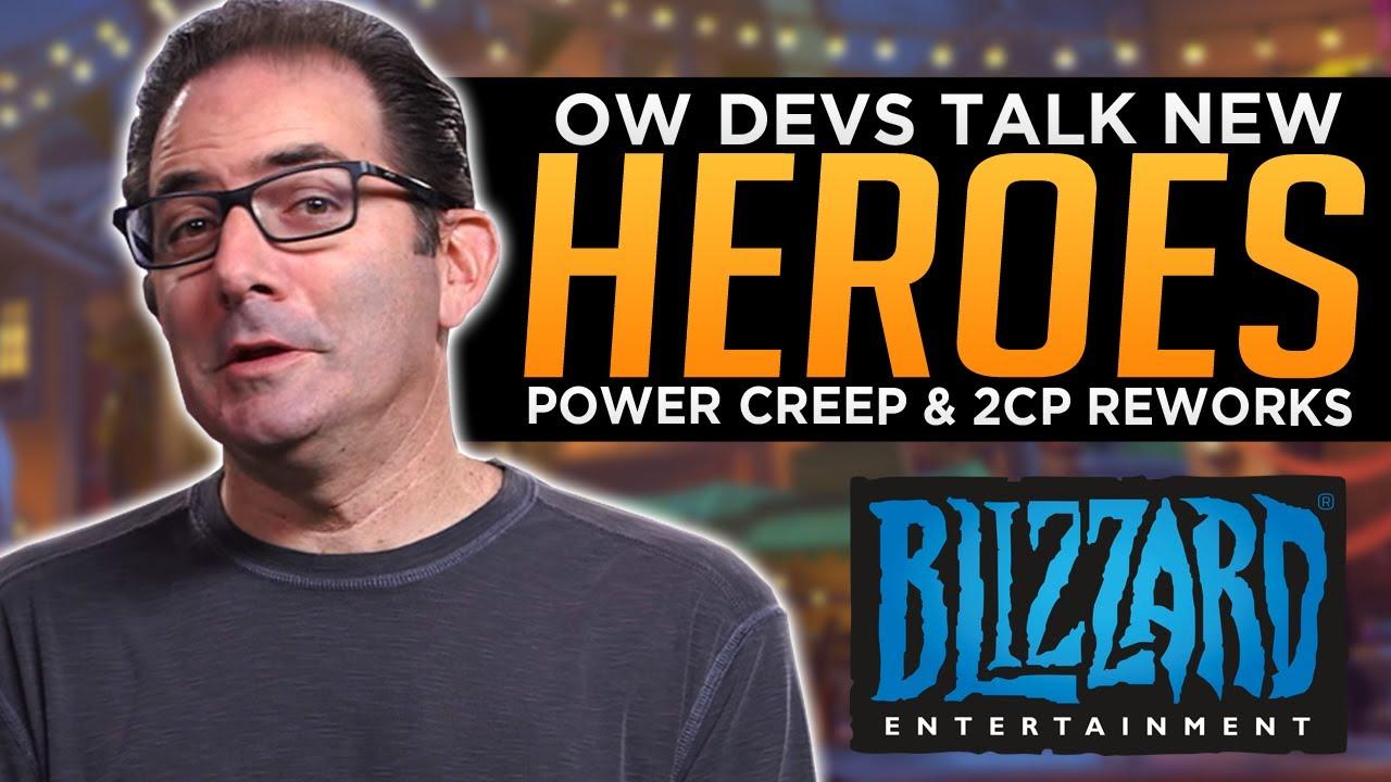 Overwatch: Blizzard Talks NEW Heroes, Power Creep & 2CP Reworks! - Developer AMA