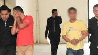 Out on bail: PKR members arrested for soliciting RM20k bribe