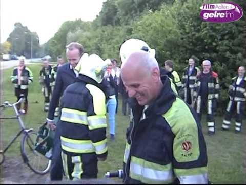 Verassing na jaren dienst voor brandweerman Maastricht. | Doovi