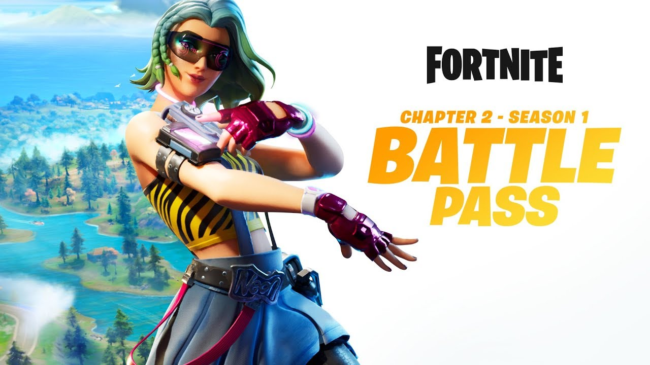 Fortnite Chapter 2 Season 1 Battle Pass Gameplay Trailer
