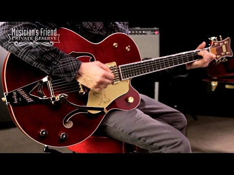 Gretsch Guitars G6136TFM-DCHY Limited Edition Falcon with Bigsby Hollowbody Electric Guitar