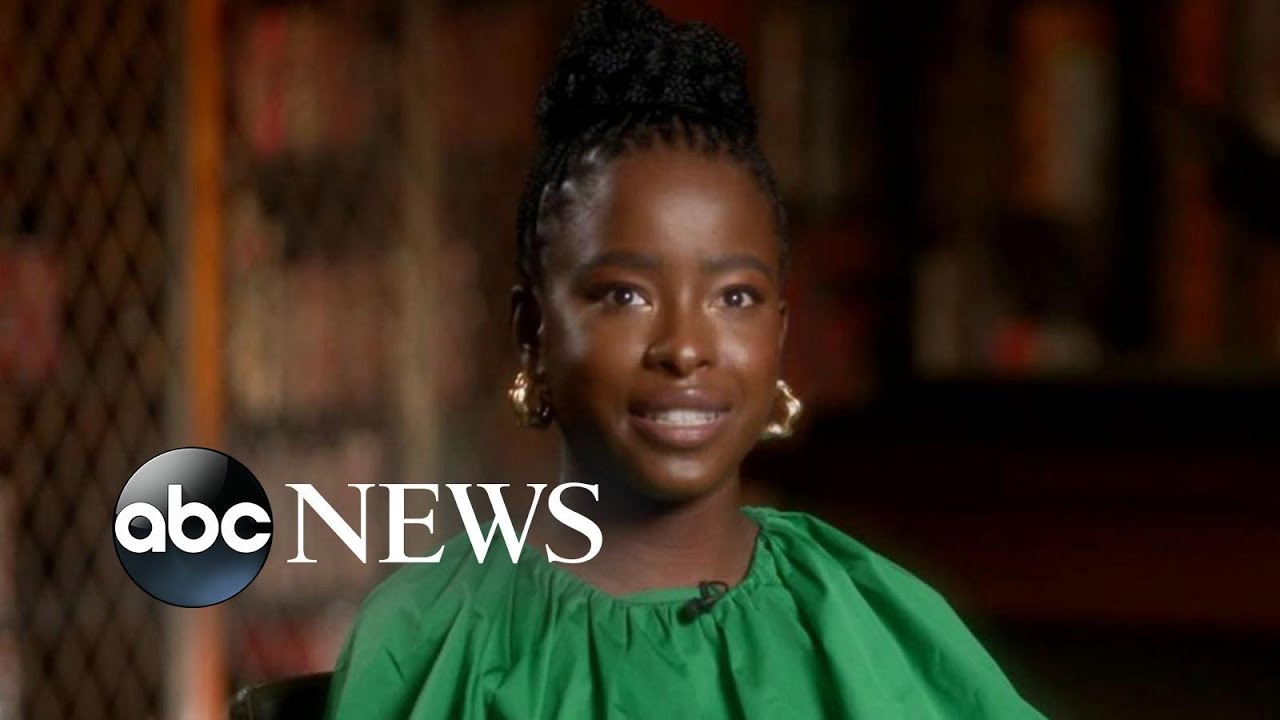 Download Amanda Gorman rises to stardom after reciting poem at presidential inauguration | Nightline