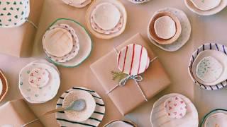 Ceramics Surface Design Ideas: Meditative Patterns on Porcelain Pinch Pots