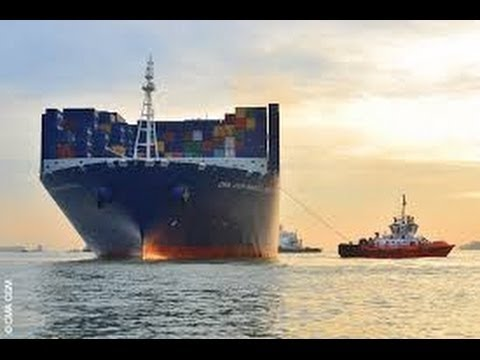 SHIP WORLD SERIES Le Havre Sydney by cargo container language france n