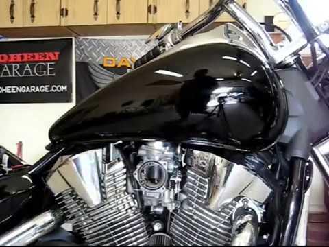 VTX1300 Tank Removal - YouTube