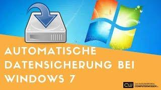 Automatische tägliche Datensicherung mit Windows 7 - TUTORIAL