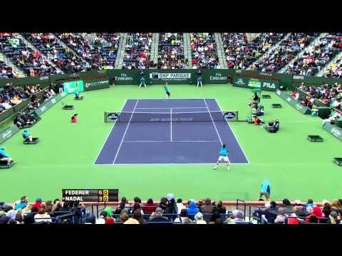 Indian Wells 2012 Halve Finale - Roger Federer vs Rafael Nadal