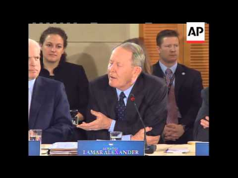 Sen. Lamar Alexander (R-TN) told President Barack Obama during his health care summit with lawmakers