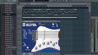 Rock melodi instrumen feeling metal Fl Studio.10 by Racis