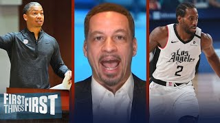 Chris Broussard talks hiring of Ty Lue as Clippers HC & managing Kawhi | NBA | FIRST THINGS FIRST