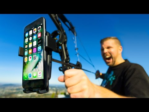 Thumbnail: Mounting iPhone 7 to Bow & Arrow!! Ultimate Aerial 4K Camera?