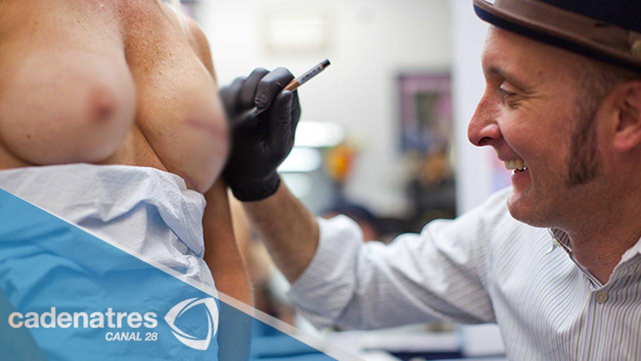 Vinnie myers tatuador que reconstruye seno de mujeres for Three d nipple tattoos