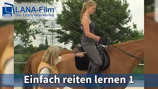 Einfach reiten lernen 1 (DVD Lehrvideo) Kerstin Diacont