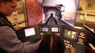 Тренажер машиниста метро(Тренажер для обучения машиниста метро на примере кабины поезда