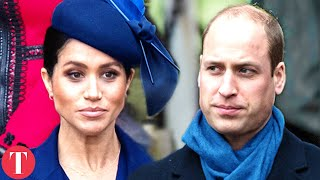 Meghan Markle Feud Is Really With Prince William And Here's Why