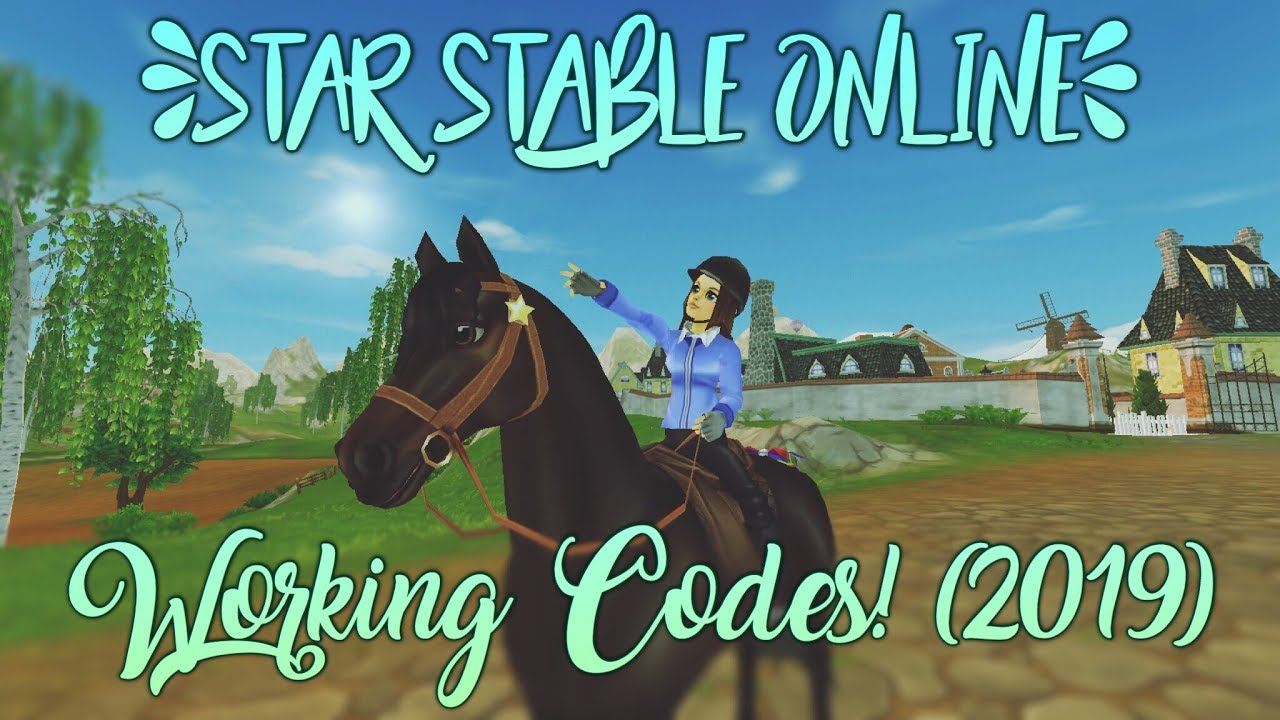 Star Stable Online WORKING Codes! (2019)